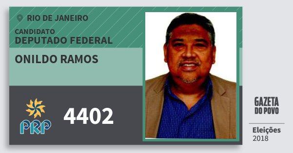 Santinho Onildo Ramos 4402 (PRP) Deputado Federal | Rio de Janeiro | Eleições 2018