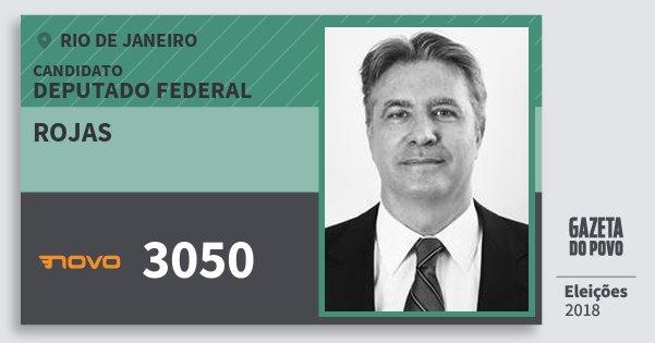 Santinho Rojas 3050 (NOVO) Deputado Federal | Rio de Janeiro | Eleições 2018