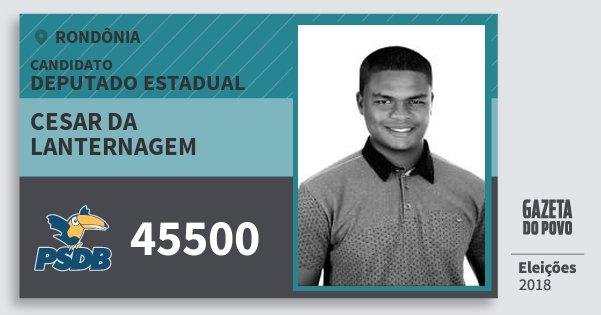 Santinho Cesar da Lanternagem 45500 (PSDB) Deputado Estadual   Rondônia   Eleições 2018