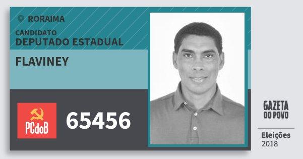 Santinho Flaviney 65456 (PC do B) Deputado Estadual | Roraima | Eleições 2018