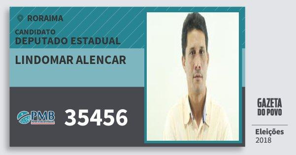 Santinho Lindomar Alencar 35456 (PMB) Deputado Estadual | Roraima | Eleições 2018