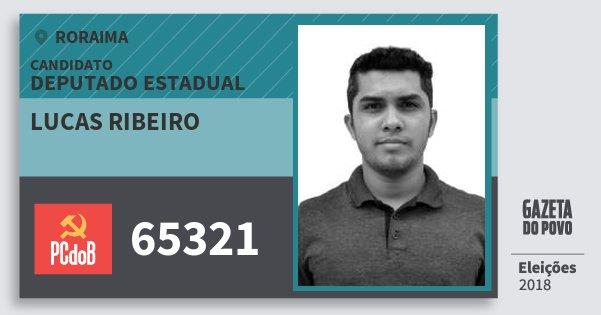 Santinho Lucas Ribeiro 65321 (PC do B) Deputado Estadual | Roraima | Eleições 2018
