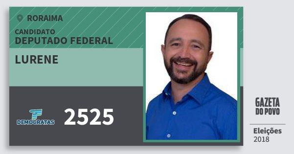 Santinho Lurene 2525 (DEM) Deputado Federal | Roraima | Eleições 2018