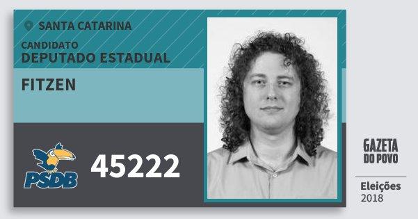 Santinho Fitzen 45222 (PSDB) Deputado Estadual | Santa Catarina | Eleições 2018
