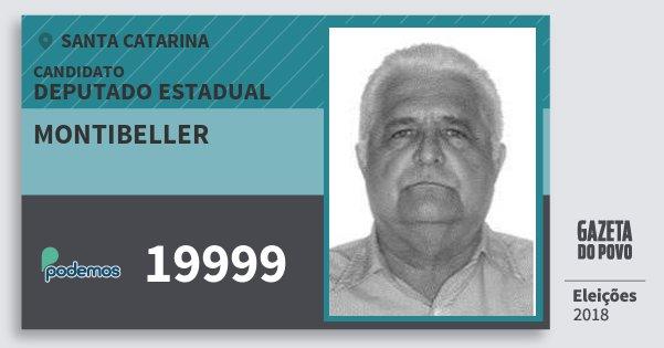 Santinho Montibeller 19999 (PODE) Deputado Estadual | Santa Catarina | Eleições 2018