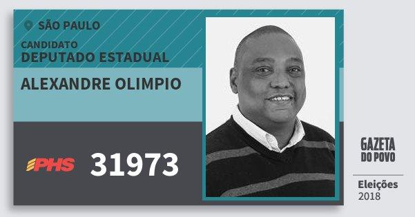 Santinho Alexandre Olimpio 31973 (PHS) Deputado Estadual | São Paulo | Eleições 2018