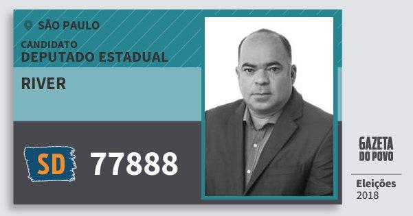 Santinho River 77888 (SOLIDARIEDADE) Deputado Estadual   São Paulo    Eleições 2018 d184e9d53d