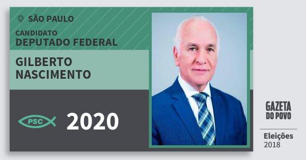 Santinho Gilberto Nascimento 2020 (PSC) Deputado Federal | São Paulo | Eleições 2018
