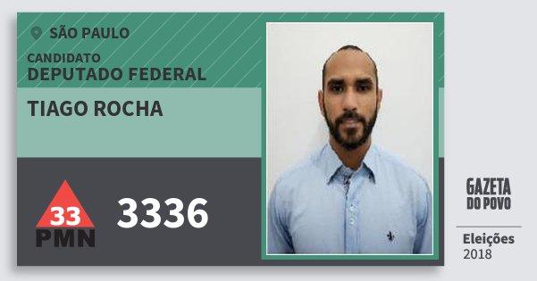 Santinho Tiago Rocha 3336 (PMN) Deputado Federal  85a1d1de312