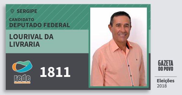 Santinho Lourival da Livraria 1811 (REDE) Deputado Federal | Sergipe | Eleições 2018