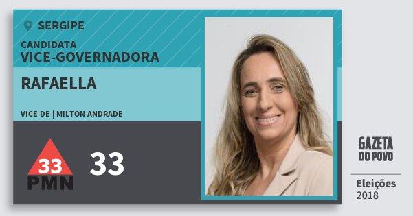 Santinho Rafaella 33 (PMN) Vice-Governadora | Sergipe | Eleições 2018