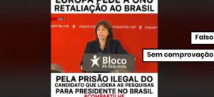 União Europeia não pediu retaliação ao Brasil por prisão de Lula