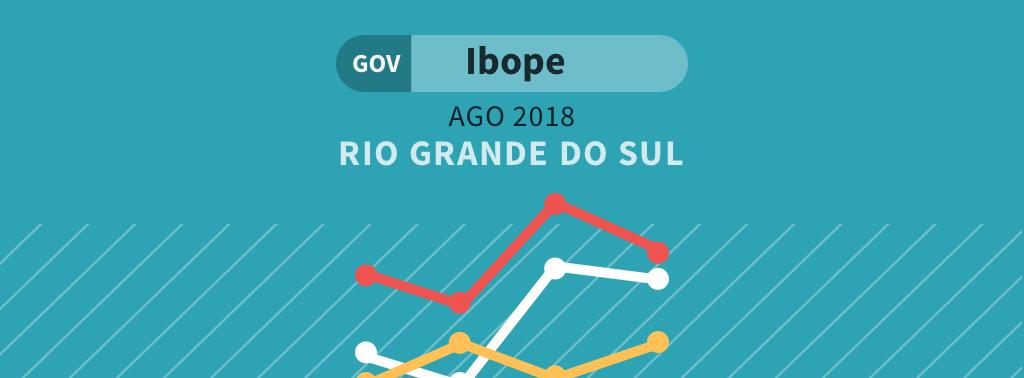 Ibope RS para governador: José Ivo Sartori lidera