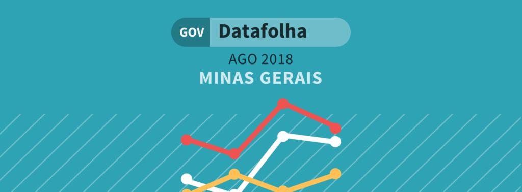 Datafolha governo MG: Anastasia lidera com 29%, seguido de Pimentel com 20%
