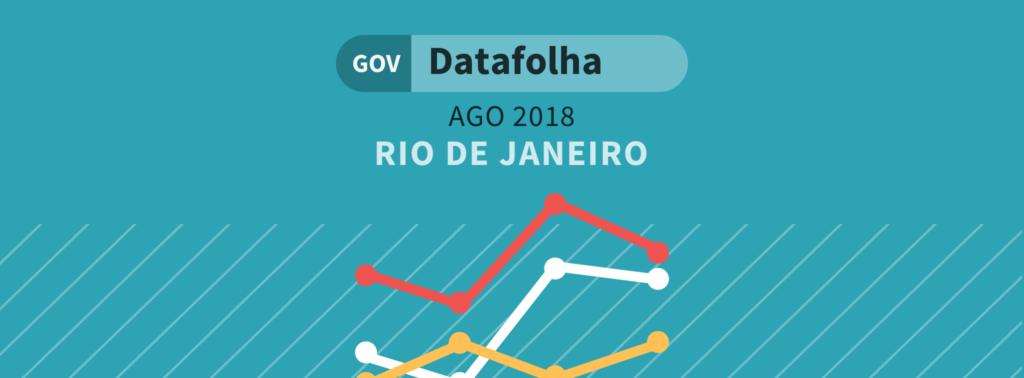 Datafolha governo RJ: Paes, Romário e Garotinho empatados tecnicamente