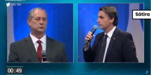 Bolsonaro não usou ponto eletrônico em debate da RedeTV!