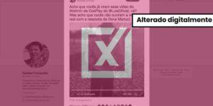 """Áudio em que mulher grita """"eu voto Lula"""" em vídeo de campanha de Alckmin é montagem"""