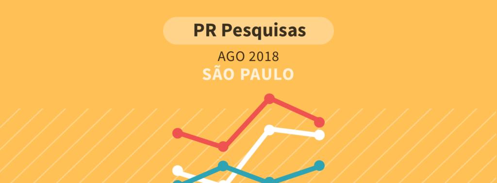 Em São Paulo, Bolsonaro supera Alckmin e lidera com 23,1%, diz Paraná Pesquisas