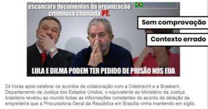 Não há evidências de que possa haver um pedido de prisão de Lula e Dilma nos EUA