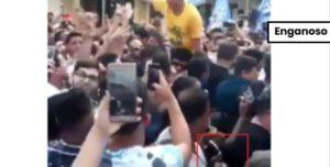 Mulher não entregou a um homem na multidão a faca usada pelo agressor de Bolsonaro
