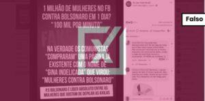 """Grupo de Facebook """"Mulheres unidas contra Bolsonaro"""" é recente e foi criado já com esse nome"""