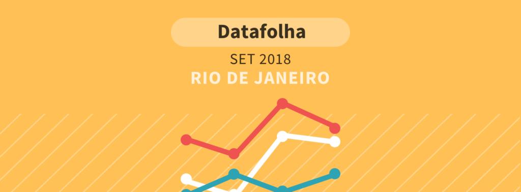 Datafolha para presidente no RJ: Bolsonaro lidera com 38%
