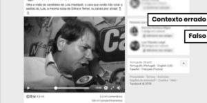 Declaração de Cid Gomes é tirada de contexto e atribuída a Fernando Haddad