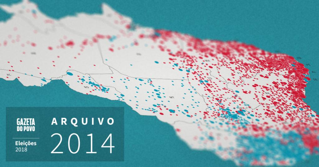 Relembre a eleição para presidente em 2014