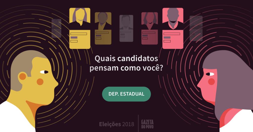 Teste: quais candidatos do Paraná pensam como você?