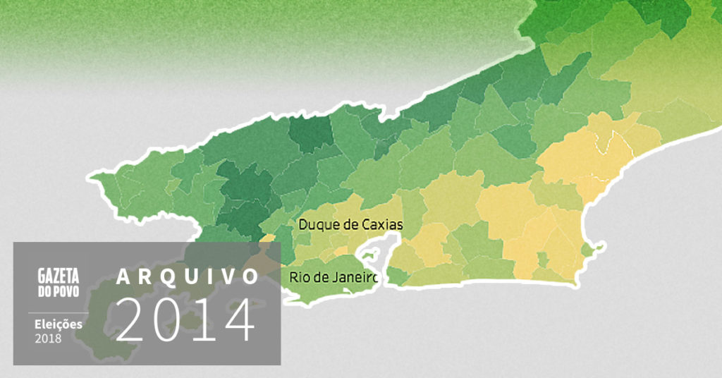 Reveja a votação para governador do Rio de Janeiro em 2014