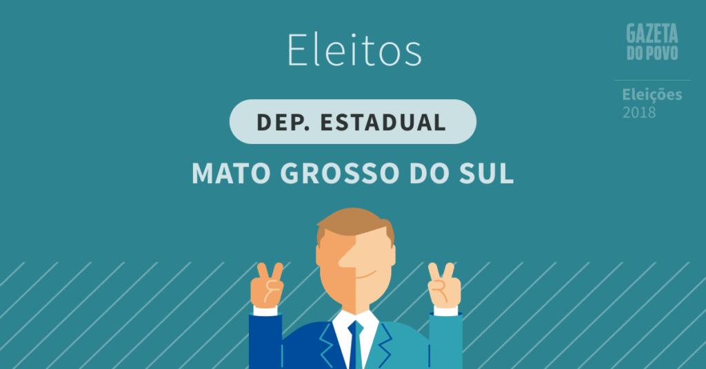 Deputados estaduais eleitos no Mato Grosso do Sul