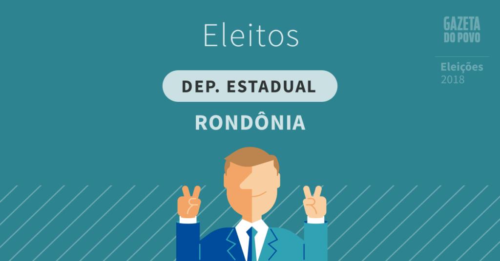 Deputados estaduais eleitos em Rondônia