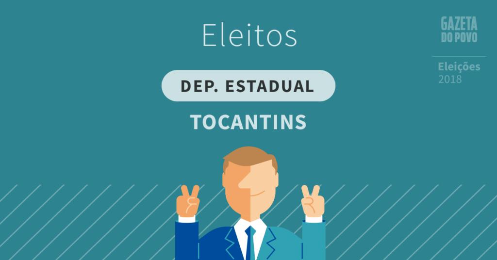 Deputados estaduais eleitos no Tocantins