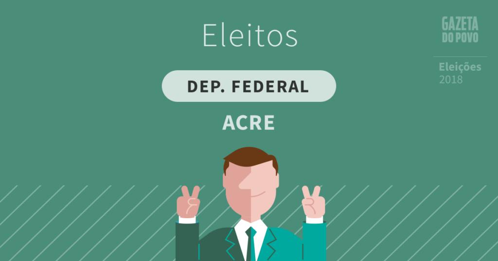 Deputados federais eleitos no Acre