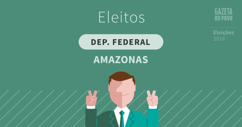 Deputados federais eleitos no Amazonas