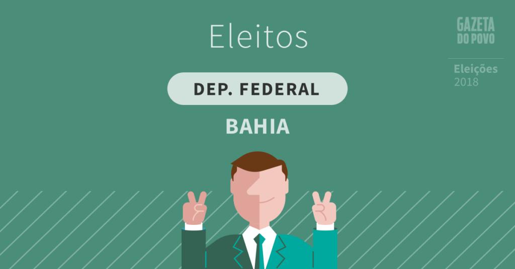 Deputados federais eleitos na Bahia