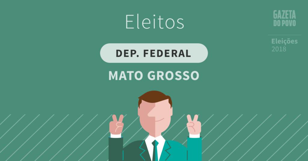 Deputados federais eleitos no Mato Grosso