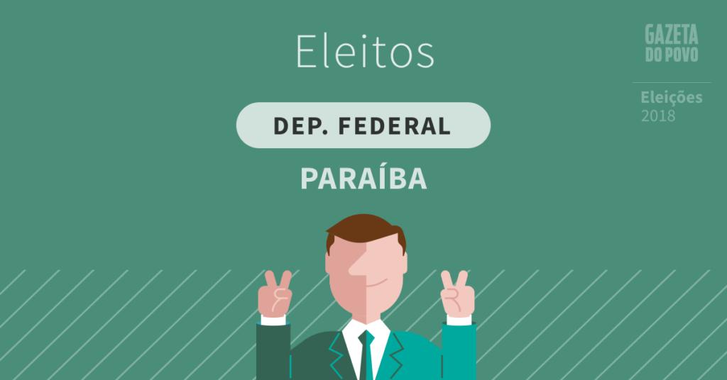 Deputados federais eleitos na Paraíba
