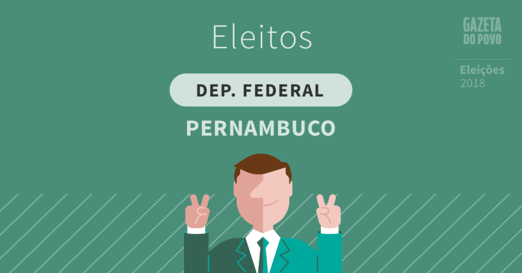 Deputados federais eleitos em Pernambuco