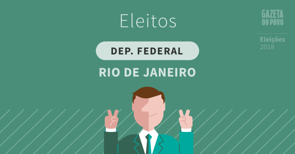 Deputados federais eleitos no Rio de Janeiro