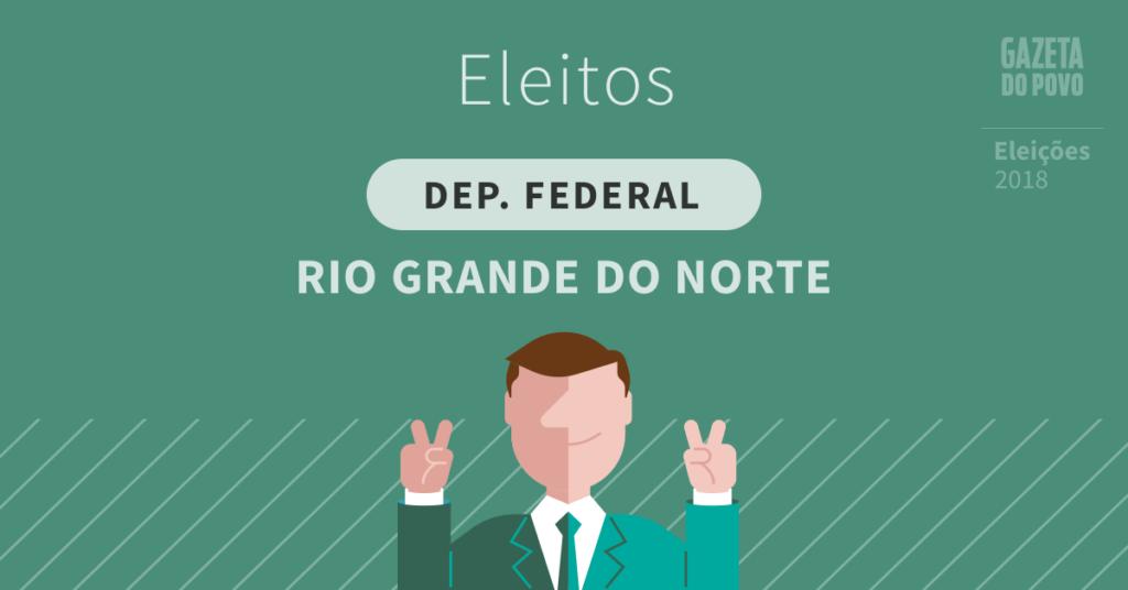 Deputados federais eleitos no Rio Grande do Norte