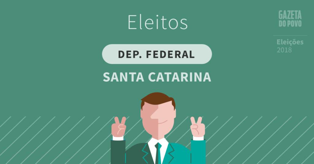 Deputados federais eleitos em Santa Catarina