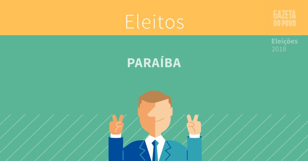 Resultado da eleição na Paraíba
