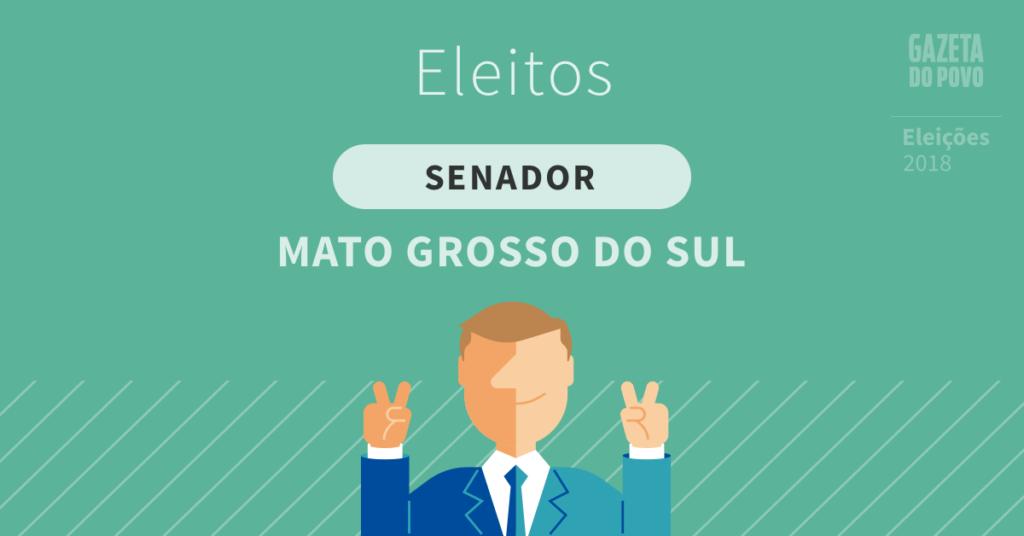 Nelsinho Trad e Soraya Thronicke são eleitos senadores por Mato Grosso do Sul