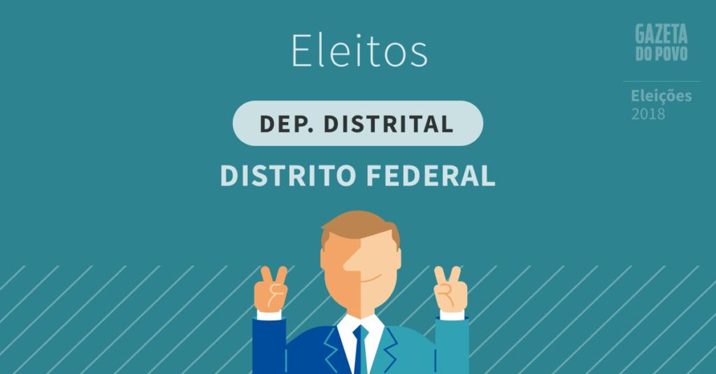 Resultado da eleição para deputado distrital no Distrito Federal