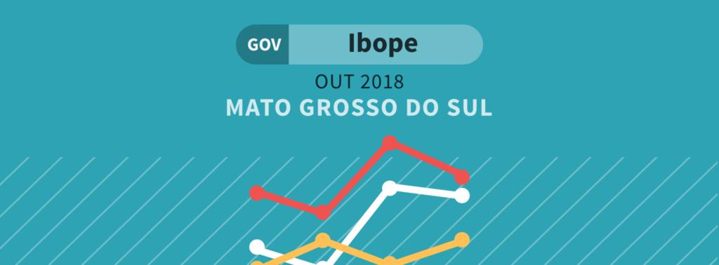 Ibope: Disputa pelo governo no Mato Grosso do Sul pode ser definida já no primeiro turno