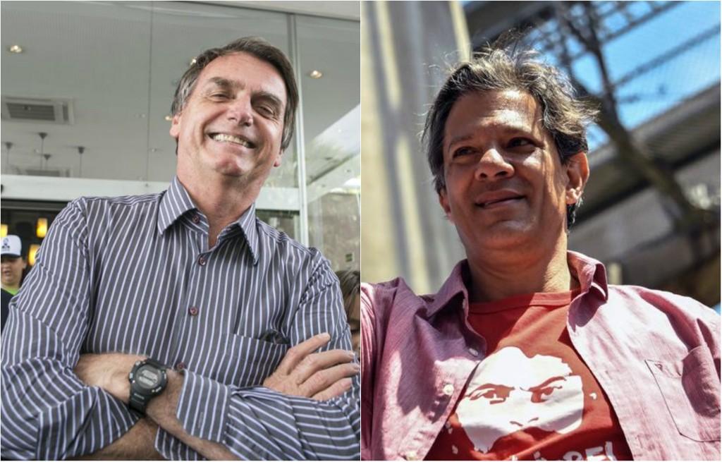 Ibope e Datafolha apontam vitória de Bolsonaro, mas com margem menor