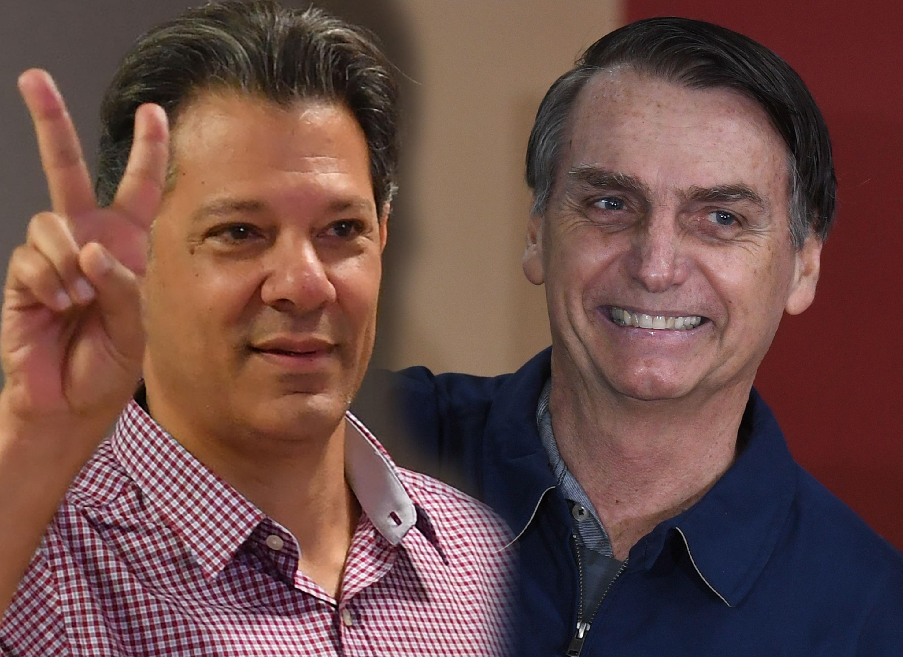 Bolsonaro e Haddad vão disputar o 2.º turno
