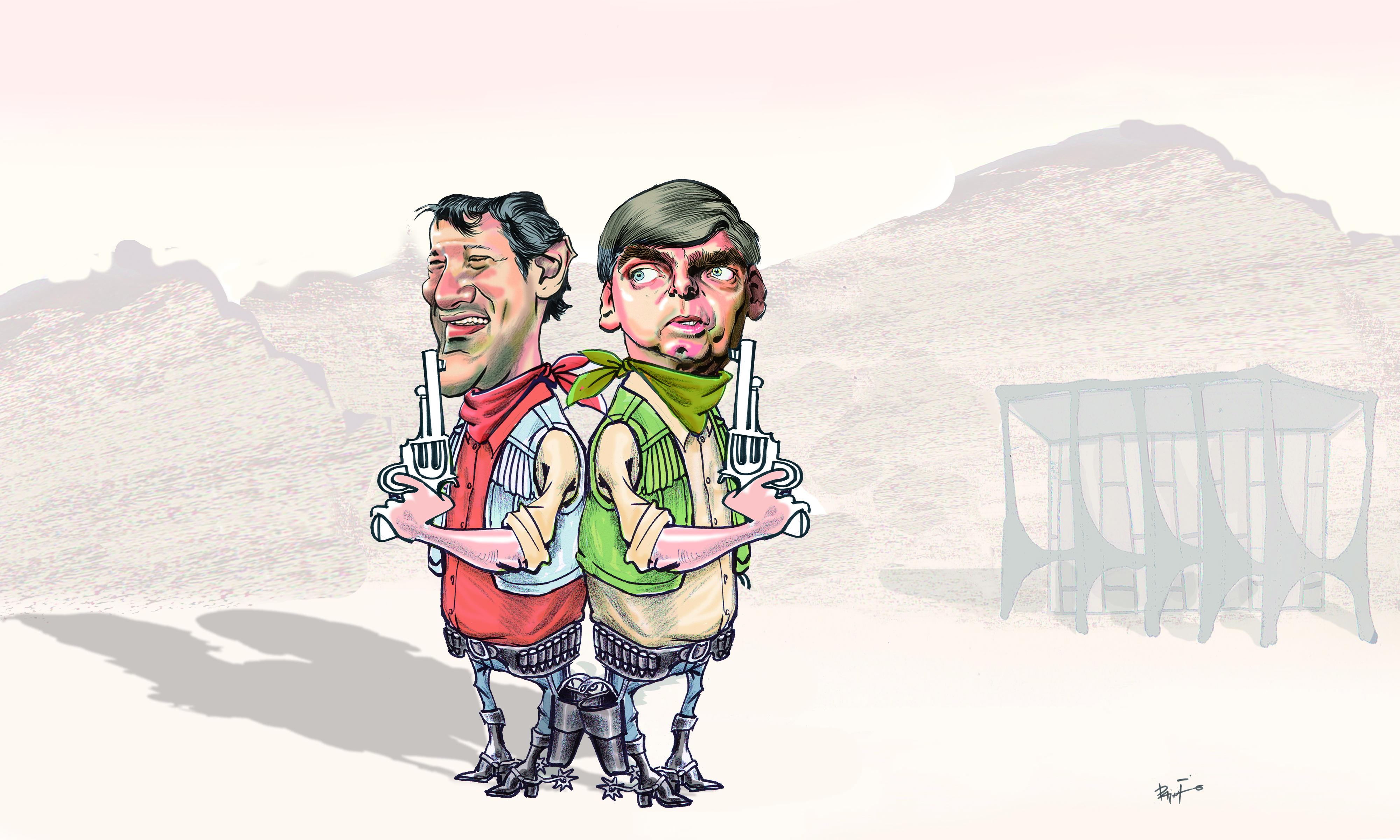 Bolsonaro e Haddad: um novo duelo