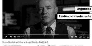 Vídeo com suspeitas sobre eleições de 2014 usou lei matemática que não prova fraude